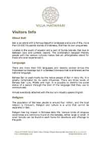 villa-matahari-visitors-info